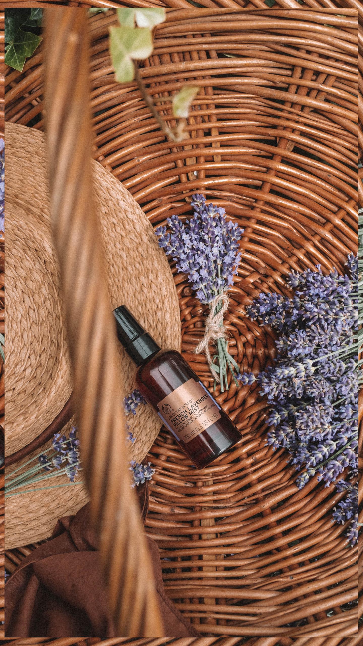 Secrets Spa of the World Lavender Pillow Mist The Body Shop