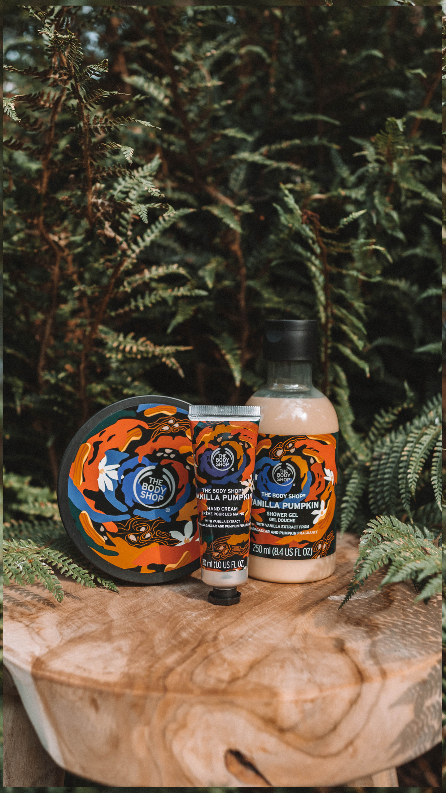 The Body Shop Vanilla Pumpkin Body Care